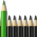 Stand Out pencil Graphic